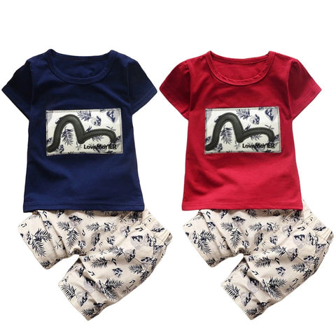 Baby Boy Design Short Sleeve T-Shirt Outfit Clothes - bump, baby and beyond