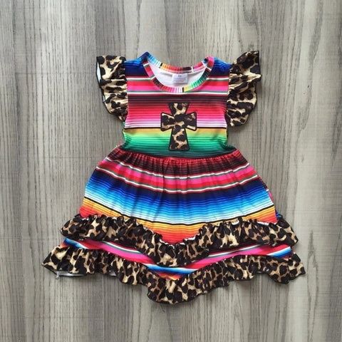 Toddler girls colorful milk silk dress - bump, baby and beyond