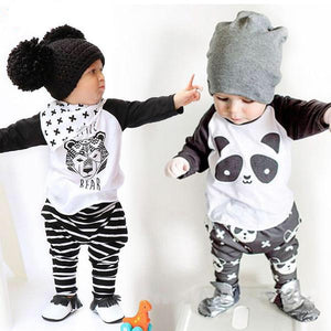 Baby Unisex Boys Girls T Shirt Pants Outfit Clothes - bump, baby and beyond