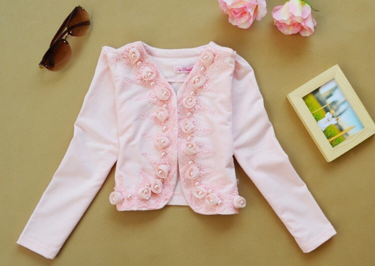 Rose Girls Long Sleeve Blouse Dress Clothes - bump, baby and beyond