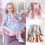New Princess floral bowknot ruffles dress - bump, baby and beyond
