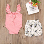 Baby Girl Summer Onesie Pink Bottom Set Clothes - bump, baby and beyond