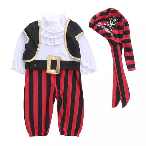 Halloween Boys Captain Cosplay Costume - bump, baby and beyond