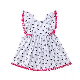 Girls flamingo party pageant dress - bump, baby and beyond