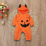 Infant baby unisex hooded romper halloween costume - bump, baby and beyond