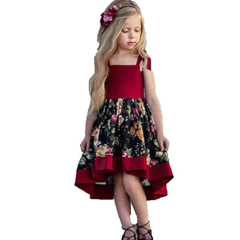 Toddler Baby Flower Lace Strap Dress - bump, baby and beyond