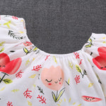 Baby Girl Floral Flower Onesies Clothes - bump, baby and beyond
