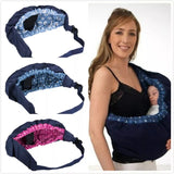 Newborn swaddling nursing carrier - bump, baby and beyond