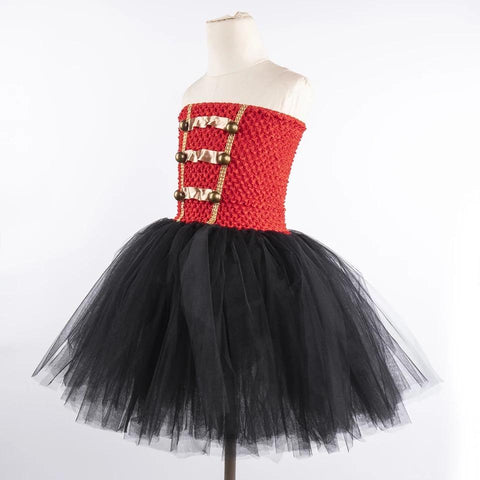 Halloween Red Black Nutcracker Costume Dress - bump, baby and beyond
