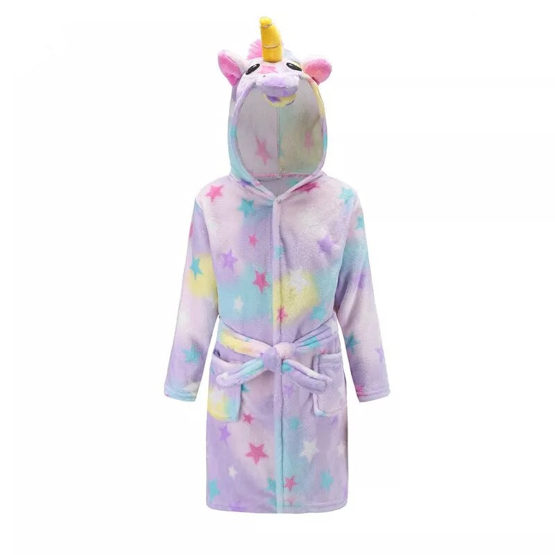 Girls Unicorn Robe Pajamas Clothes - bump, baby and beyond
