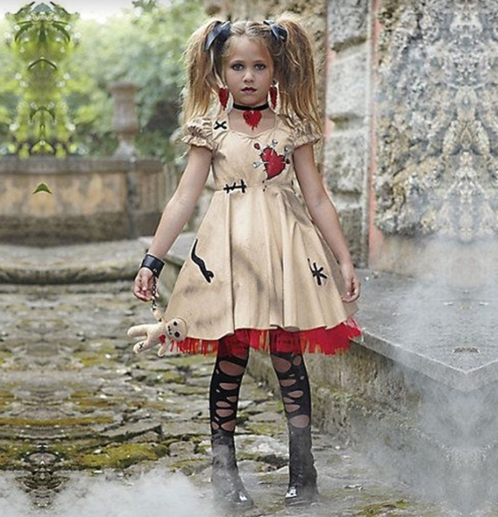 Fashion Kids Voodoo Dress Halloween Costume - bump, baby and beyond
