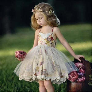Flower Girl Elegant Sleeveless Dress - bump, baby and beyond