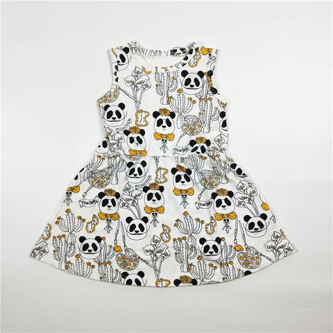 Kids boy girl printed panda dress t-shirt pants clothes - bump, baby and beyond
