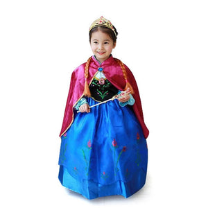 New Princess Elsa Anna Cosplay Costume Dresses - bump, baby and beyond
