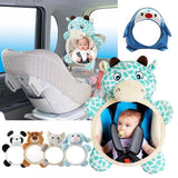 Baby Adjustable Rear Facing Mirror Car Safety - bump, baby and beyond
