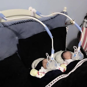 3 Sizes Baby Bottle Rack Free Hand Holder - bump, baby and beyond