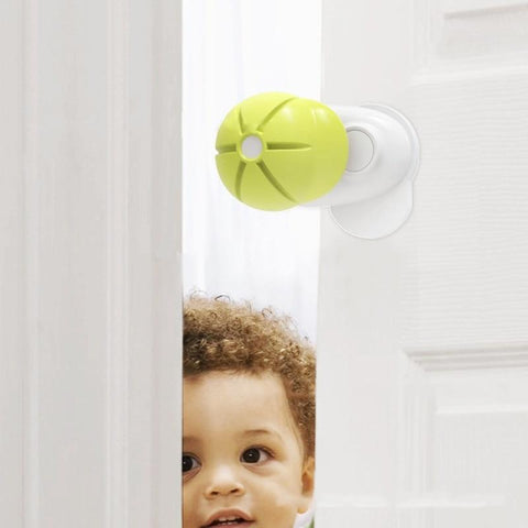 Baby shock absorber security door stopper - bump, baby and beyond