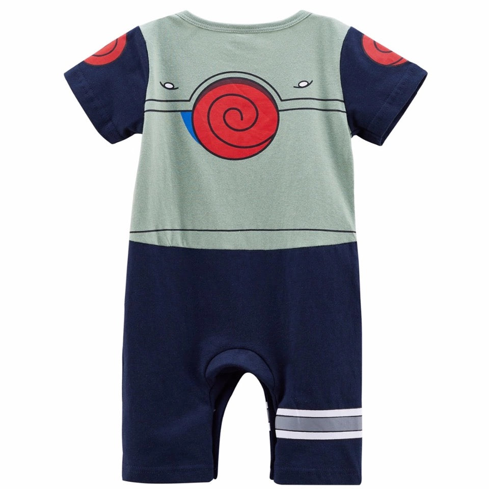 Newborn Baby Boy Hatake Kakachi Romper Playsuit Clothes - bump, baby and beyond