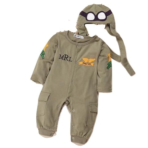 Baby Boy Airforce Beanie Costume Halloween Clothes - bump, baby and beyond