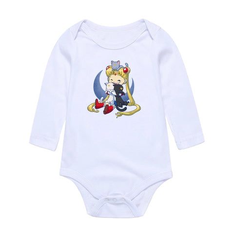 Newborn baby girls romper bodysuit clothes - bump, baby and beyond