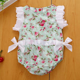 Baby girls summer lace floral outfit clothes - bump, baby and beyond