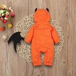 Infant Baby Unisex Girl Boy Hooded Romper Halloween Costume - bump, baby and beyond