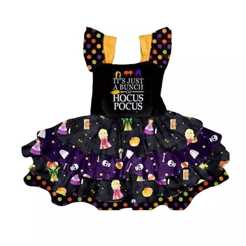 New Princess Hocus Pocus Party Ruffle Halloween Costume Dress - bump, baby and beyond