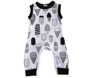 Baby Boys Ice Cream Romper Jumpsuit Clothes - bump, baby and beyond