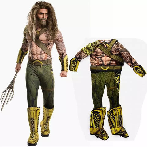 Aquaman cosplay Halloween costume - bump, baby and beyond