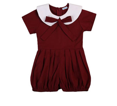 Summer Baby Girl Kid Girls Ruffled Romper Short Jumpsuit - bump, baby and beyond