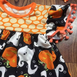 Sets Beautiful Halloween Bow Necklace Dress - bump, baby and beyond