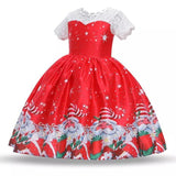 Princess Christmas New Year Santa Claus Snowflake Dress - bump, baby and beyond