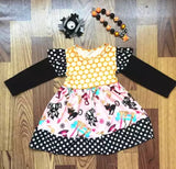 sets beautiful Halloween bow and necklace dress - bump, baby and beyond