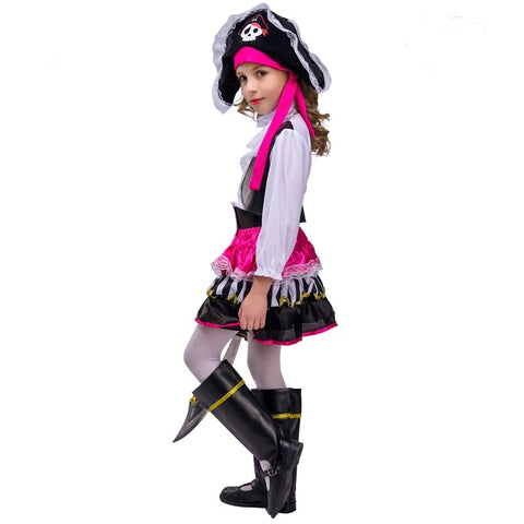 Girls pink pirate party cosplay halloween costume - bump, baby and beyond