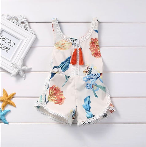 New Baby girl Romper Cotton Outfit - bump, baby and beyond