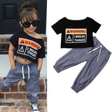 Summer Baby Kid Style Tops Long Pant Outfit - bump, baby and beyond