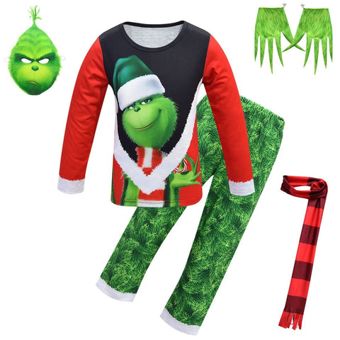 Christmas Grinch Pajamas Sleepwear Clothes - bump, baby and beyond