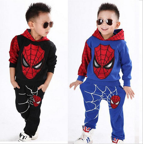 Casual boys Spider-Man Sport tracksuit pant clothes - bump, baby and beyond