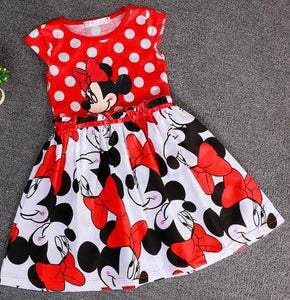 New Children's Minnie Dot Casual Dress Clothes - bump, baby and beyond