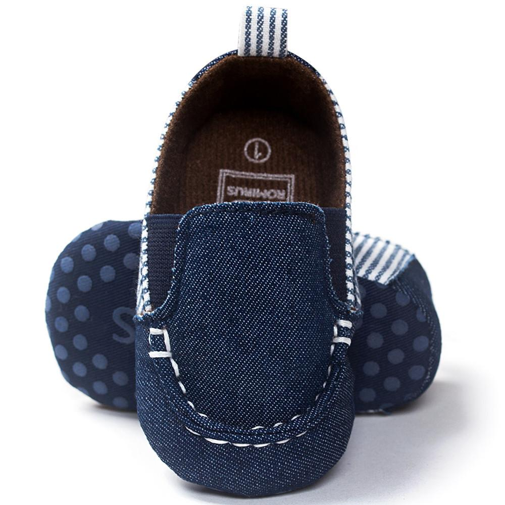 Unisex Baby Soft Sole Leather Shoes - bump, baby and beyond