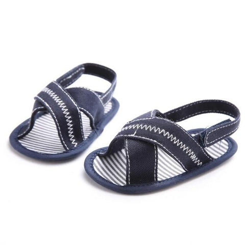 Unisex flip flops canvas boys shoes - bump, baby and beyond