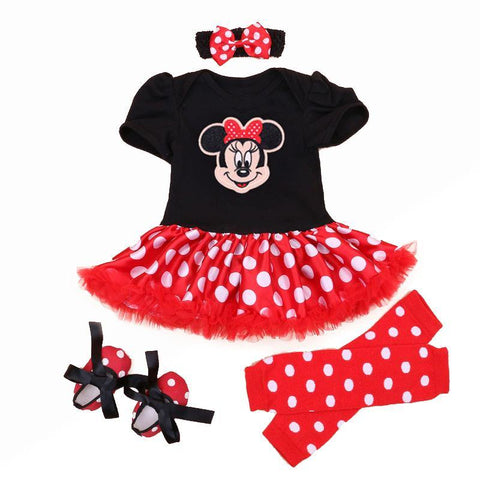 Newborn Minnie Mouse dress baby girls clothes - bump, baby and beyond