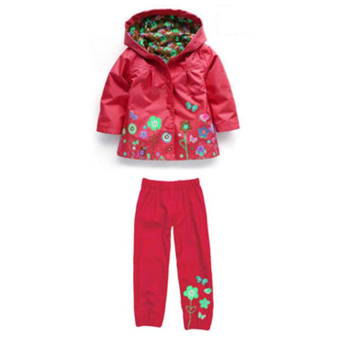 Boys nodded raincoat Waterproof set clothes - bump, baby and beyond