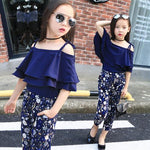 Girls Top Floral Summer Outfit Clothes - bump, baby and beyond