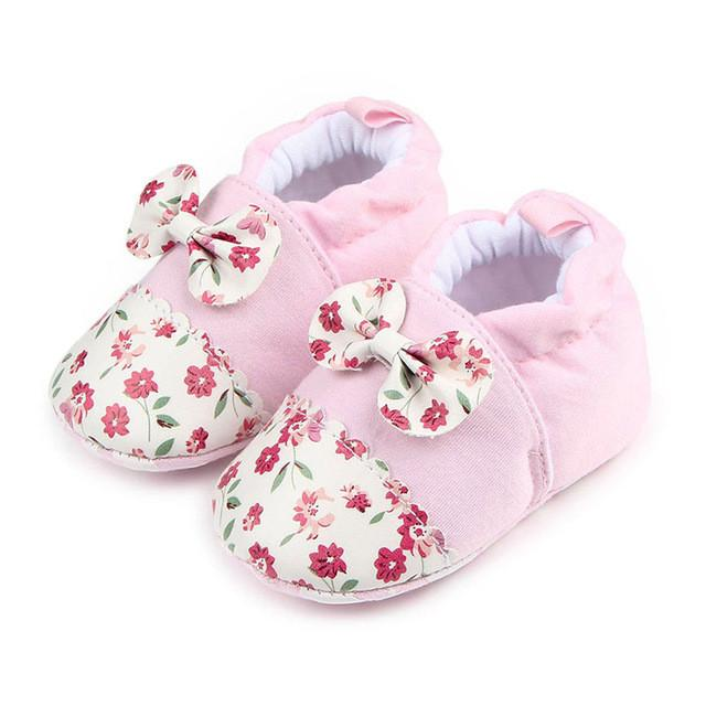 Lovely Round Flats Soft Baby Shoes - bump, baby and beyond