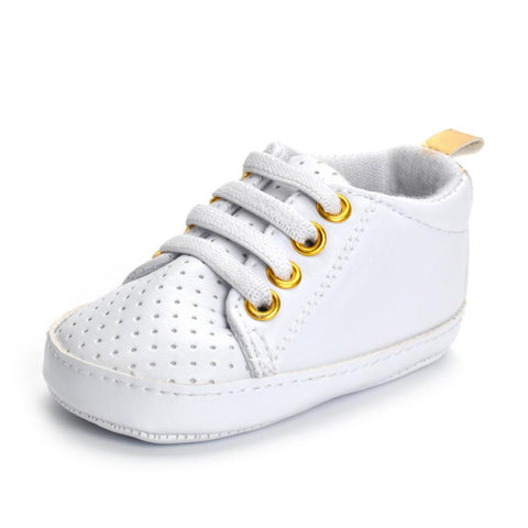 Newborn unisex soft sole anti-slip sneakers shoes - bump, baby and beyond