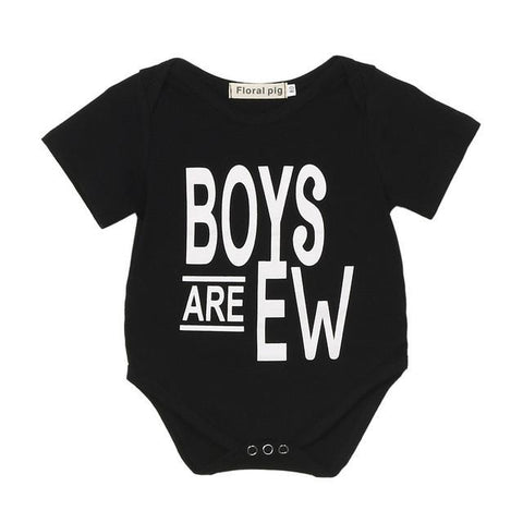 Summer Baby Romper Boys Are Ew Girls Clothes - bump, baby and beyond