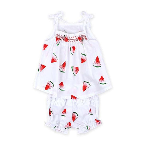 Summer Baby Girl Watermelon Printed Clothes - bump, baby and beyond