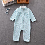Newborn Baby Unisex Jumpsuit Pajamas Collar Fleece Clothes - bump, baby and beyond