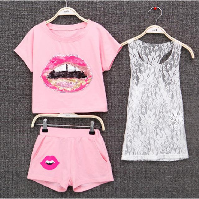 Summer Kid European Style Top T Shirt Shorts Clothes - bump, baby and beyond